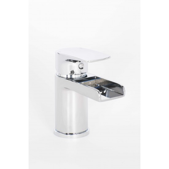 Alliance Alford Mini Mono Basin Mixer & Push Waste