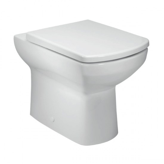 Kartell Aspect Back to Wall Toilet WC Pan With Soft Close Seat