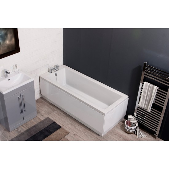 Cassellie Pool Single End Square Style Standard Bath