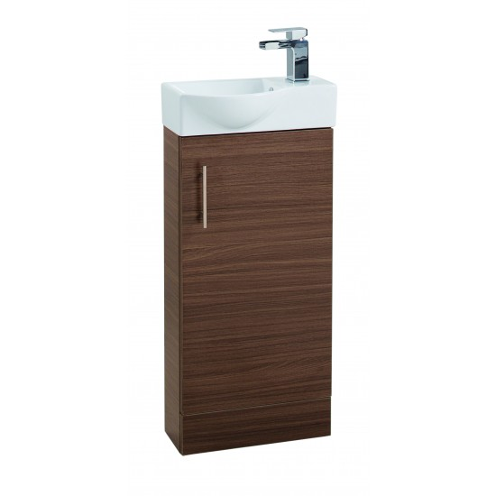 Cassellie 400mm Mini Single Door Basin & Unit (Multiple Colours)