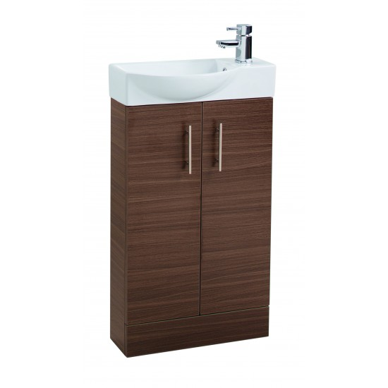 Cassellie 500mm Mini Two Door Basin & Unit (Multiple Colours)