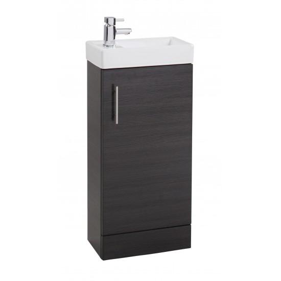 Cassellie 400mm Cube Single Door Basin & Unit (Multiple Colours)