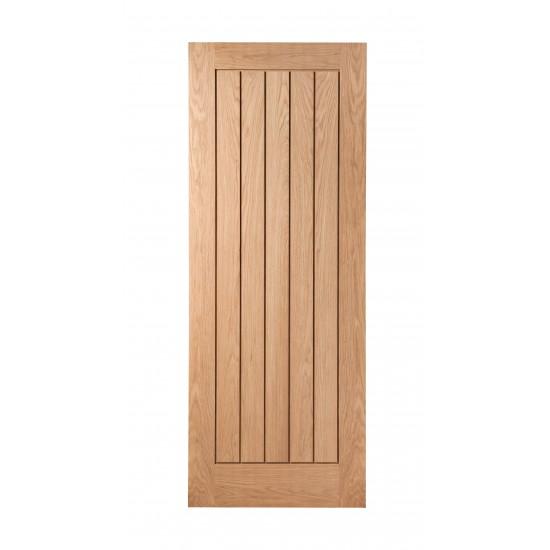 Abbottsfield Full Boarded Internal Oak Door (Multiple Sizes)