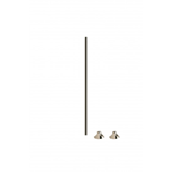 Axxys Brushed Nickel Landing Spindle (Single Spindle)