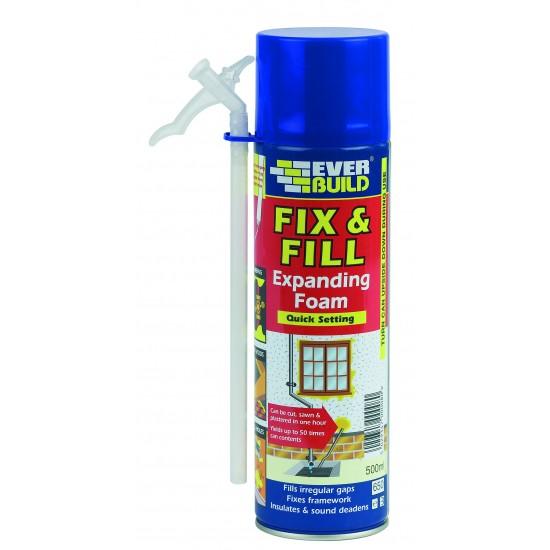 Fix & Fill Expanding Foam 500ml