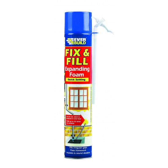 Fix & Fill Expanding Foam 750ml