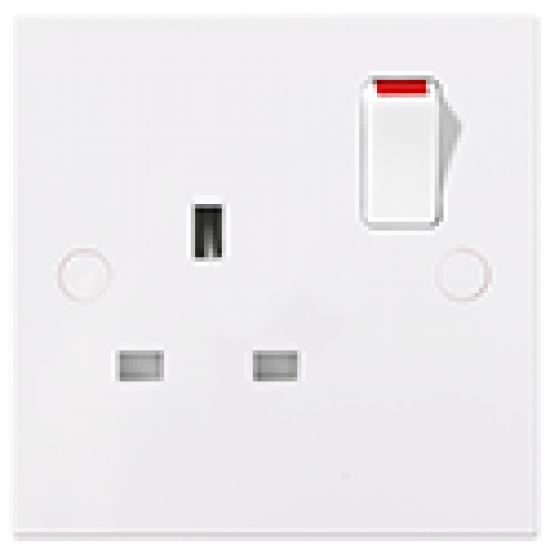 13A, 1 gang SP Single Socket