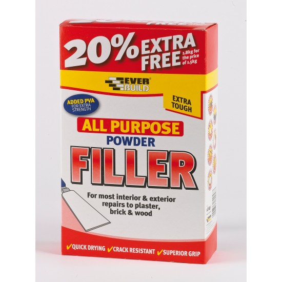 All Purpose Powder Filler White 1.5kg
