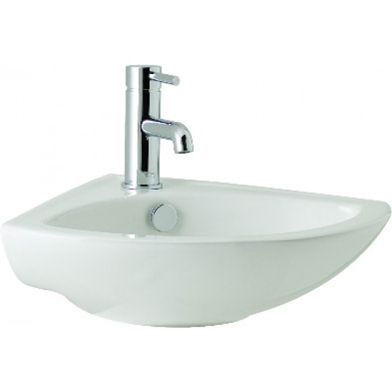 Kartell G4 360mm 1 TH or 2 TH Cloakroom Basin