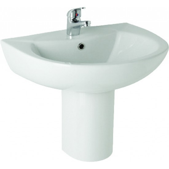 Kartell G4k 545mm 1TH or 2 TH Basin And Semi Pedestal