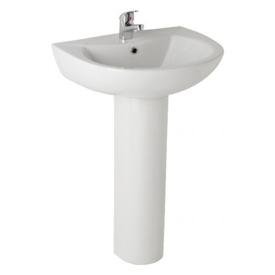 Kartell G4k 545mm 1 TH or 2 TH Basin and Pedestal
