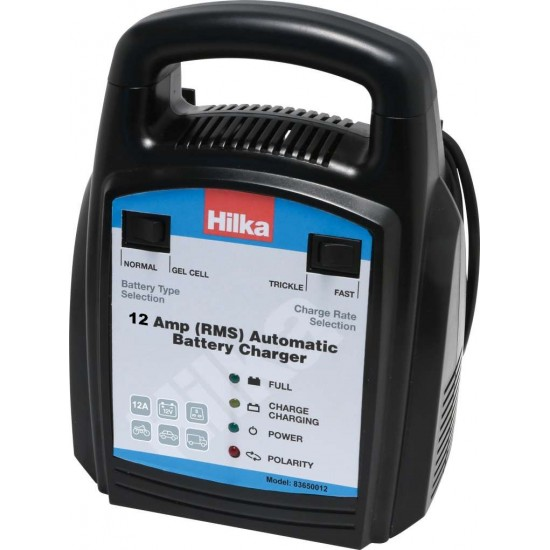 Hilka 12 Amp Automatic Battery Charger