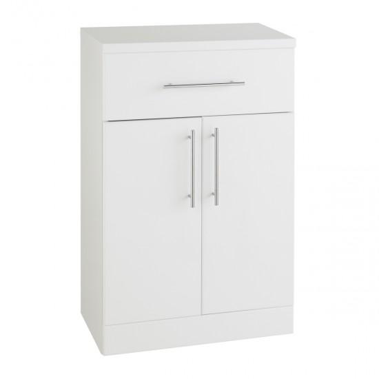 Kartell Impakt White Double Door Base Unit (Multiple Sizes)