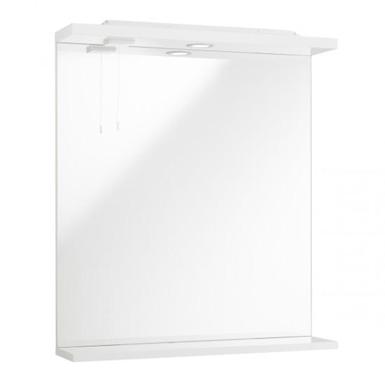 Kartell Impakt Mirror with Lights (Multiple Sizes)