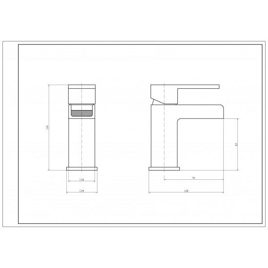Kartell Adore Mono Basin Mixer
