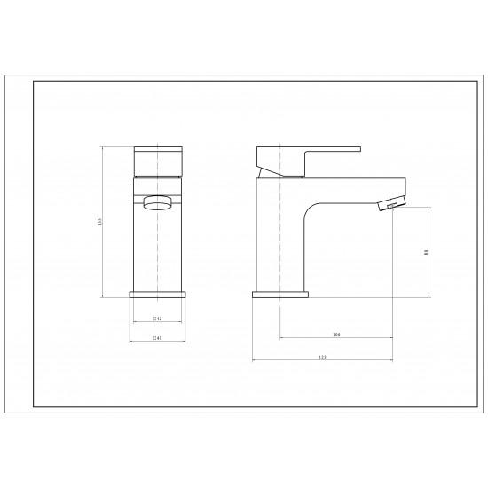 Kartell Element Mono Basin Mixer