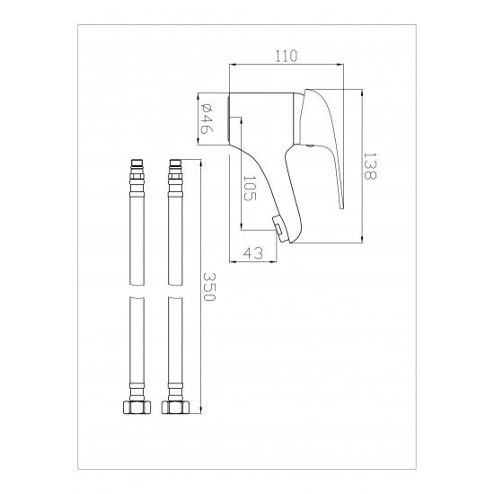 Kartell G4k Mono Basin Mixer