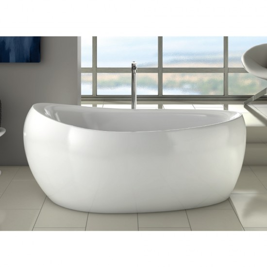 Milano Freestanding Bath 1750 x 850mm