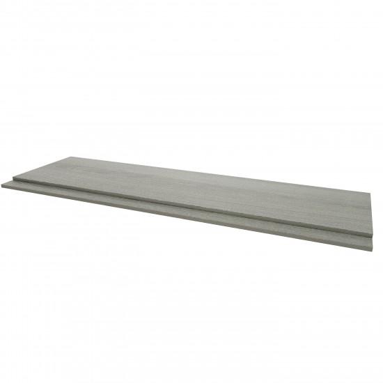 Kartell Purity Bath Panels Grey Ash (Multiple Sizes)