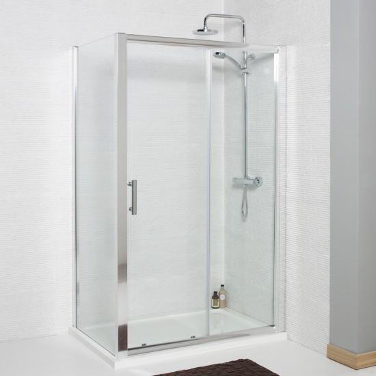 Koncept Frameless Side Panel For Sliding Door  (Multiple Sizes)