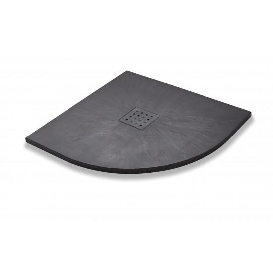 Kartell Slate Effect Quadrant Shower Trays (Multiple Sizes)
