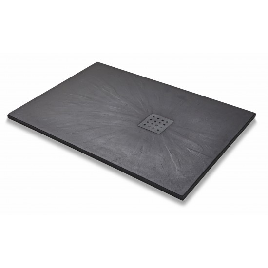 Kartell Slate Effect Rectangle Shower Trays (Multiple Sizes)