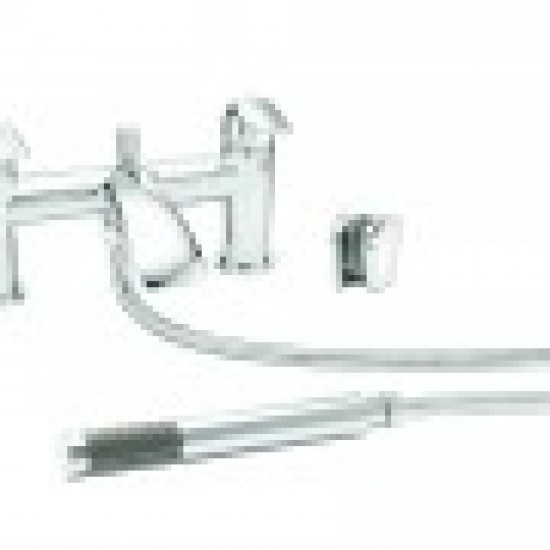 KINGSTON BATH SHOWER MIXER & SHOWER KIT